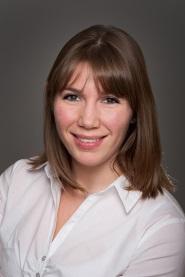 Photo de Virginie Albert, coordonnatrice des activités du Bureau de la Formation médicale continue