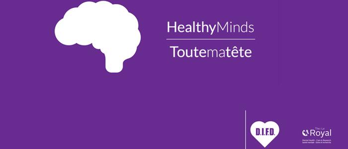 HealthyMinds App banner