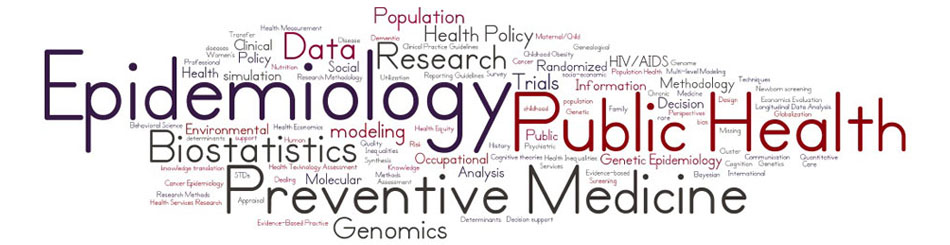 Worlde of epidemiology words