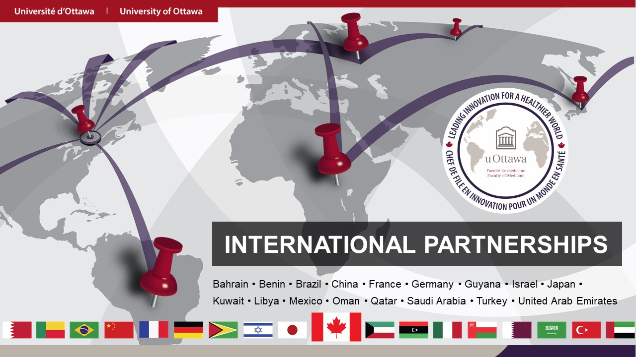 International Partnership Map