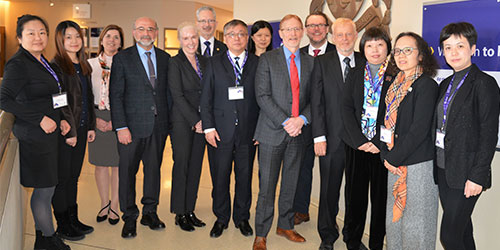 Shanghai Jiao Tong University Faculty of Medicine leadership visit to the FoM, uO