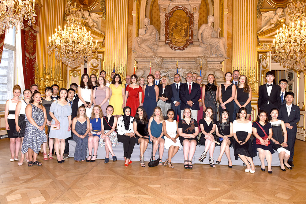 Inaugural reception of the Summer School at the Lyon Town Hall