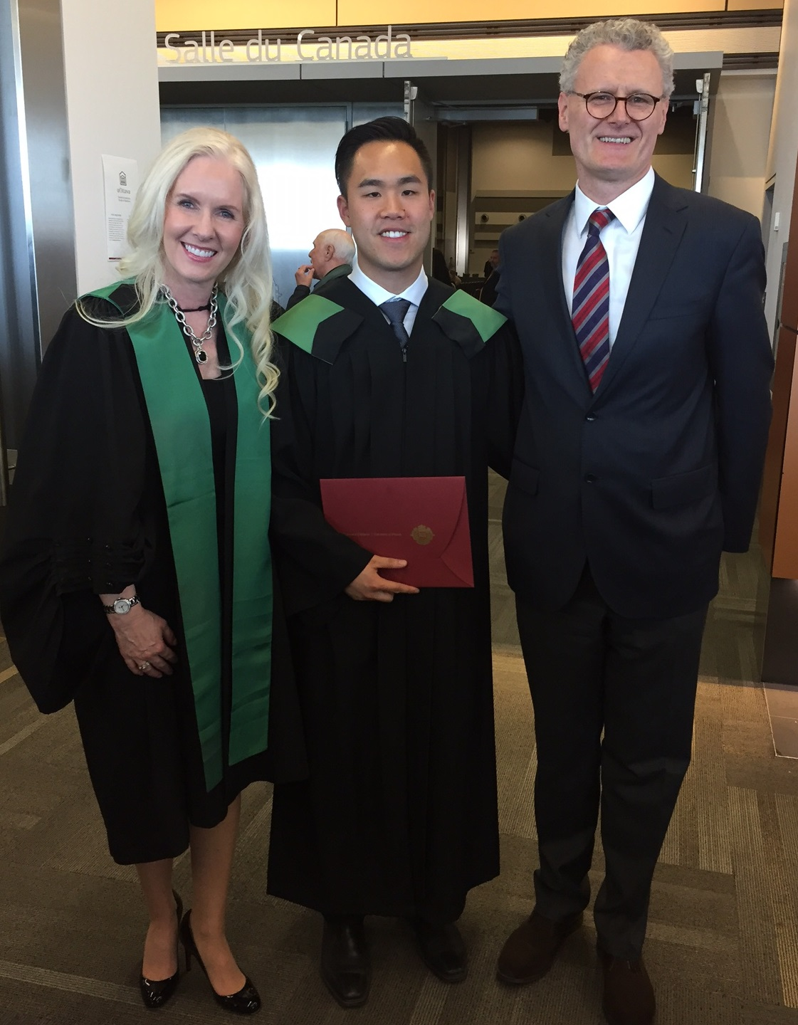 Dr. Dorgie Colin Suen and Dr. Schlossmacher