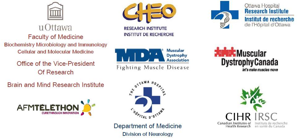 Logos of our various Platinum Sponsors