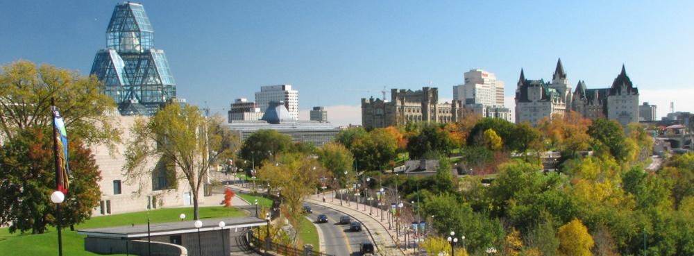 Scenic view of Ottawa