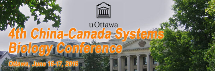 4th China-Canada Systems Biology Conference