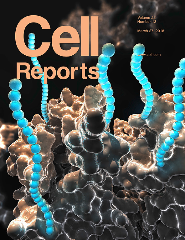 Cover of Cell Reports