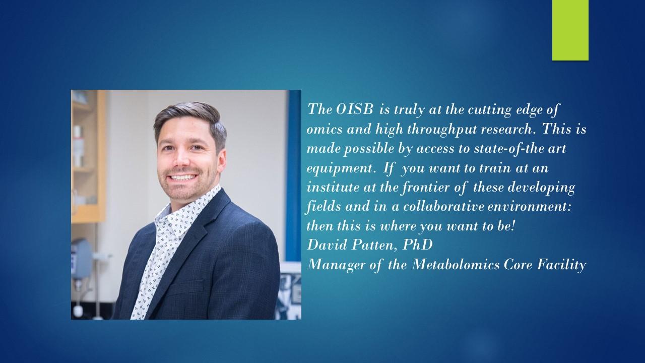Dr. David Patten,