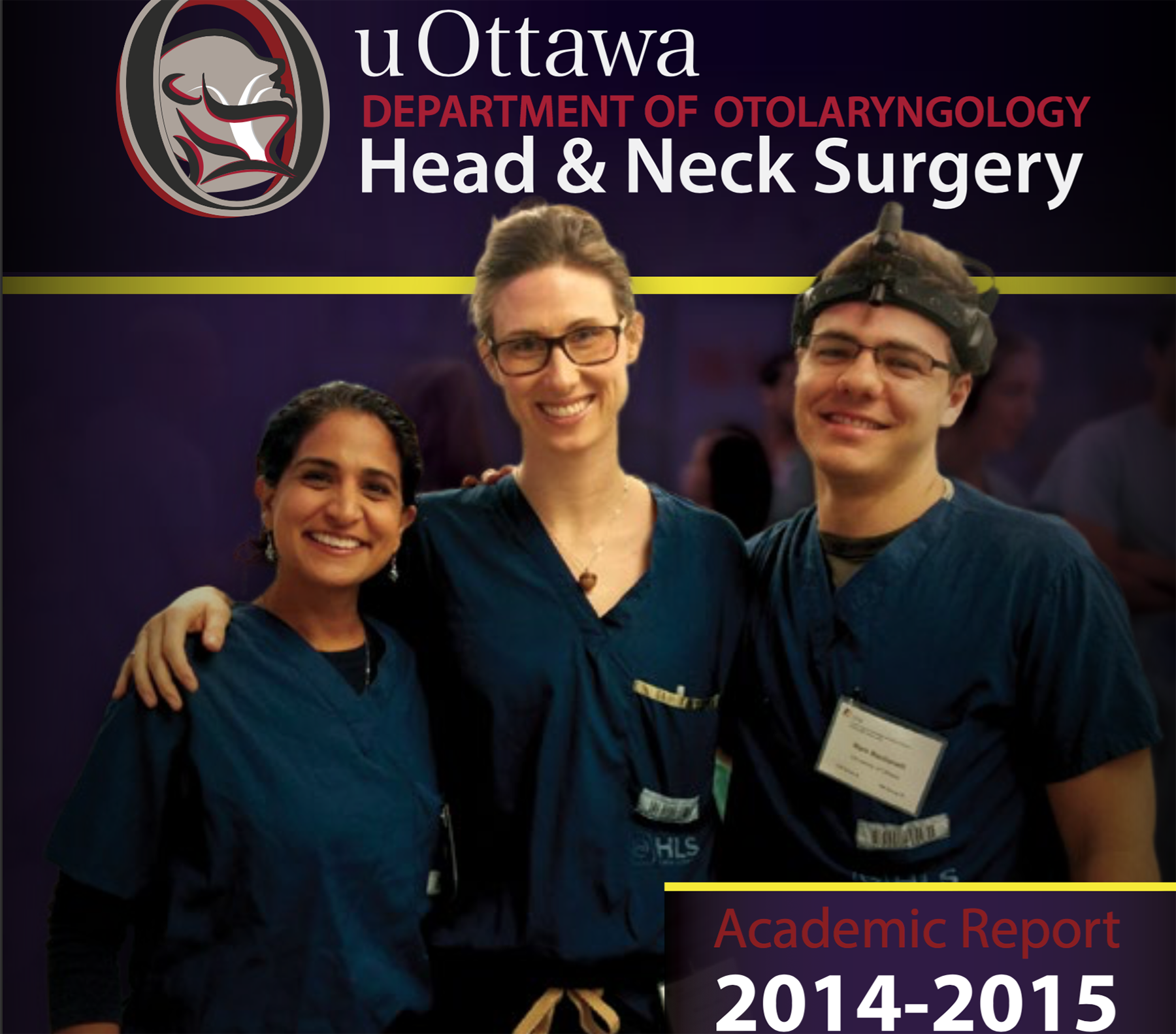 Otolaryngology Academic Report 2014-2015