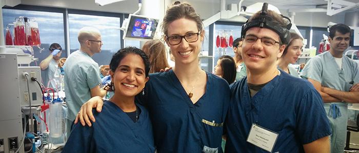 Drs. Kherani, Lebo and Bastianelli