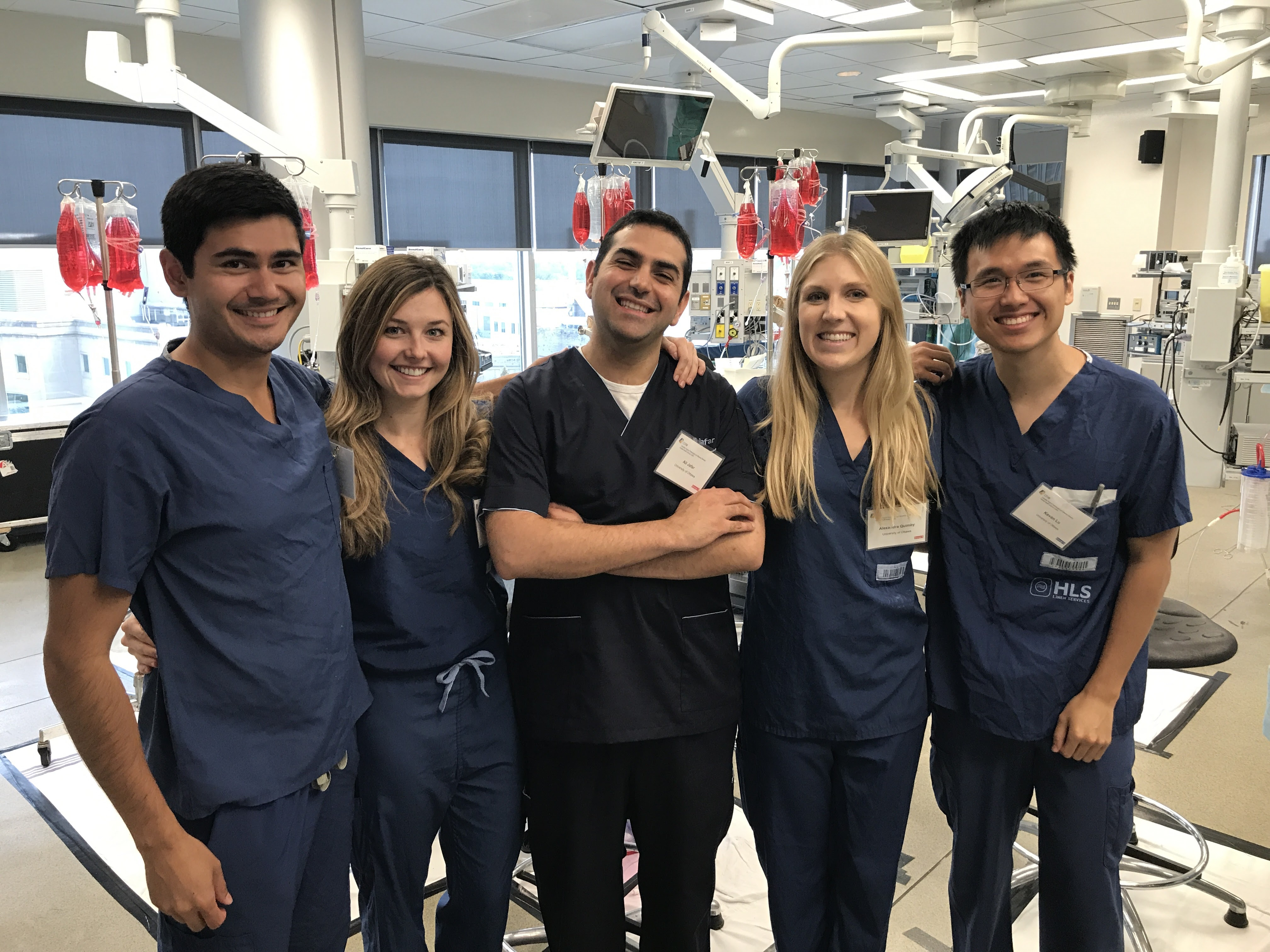 PGY 1 and 2's at the ENT Boot Camp