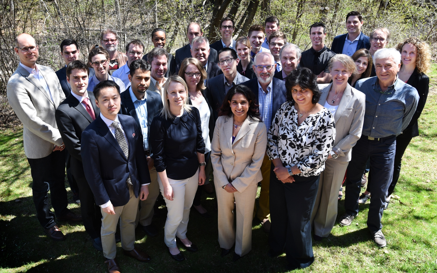 Group photo at the 2016 resident research day.