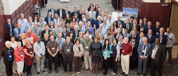 Group picture of annual conference