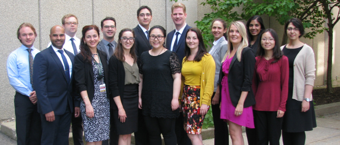 Group of anatomical pathology residents