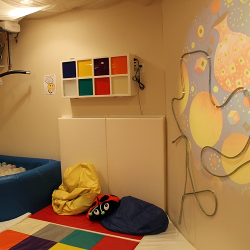 A relaxing room for the children and youth of CHEO