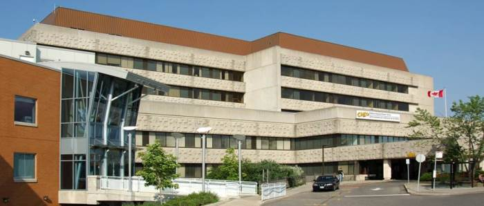the CHEO hospital building