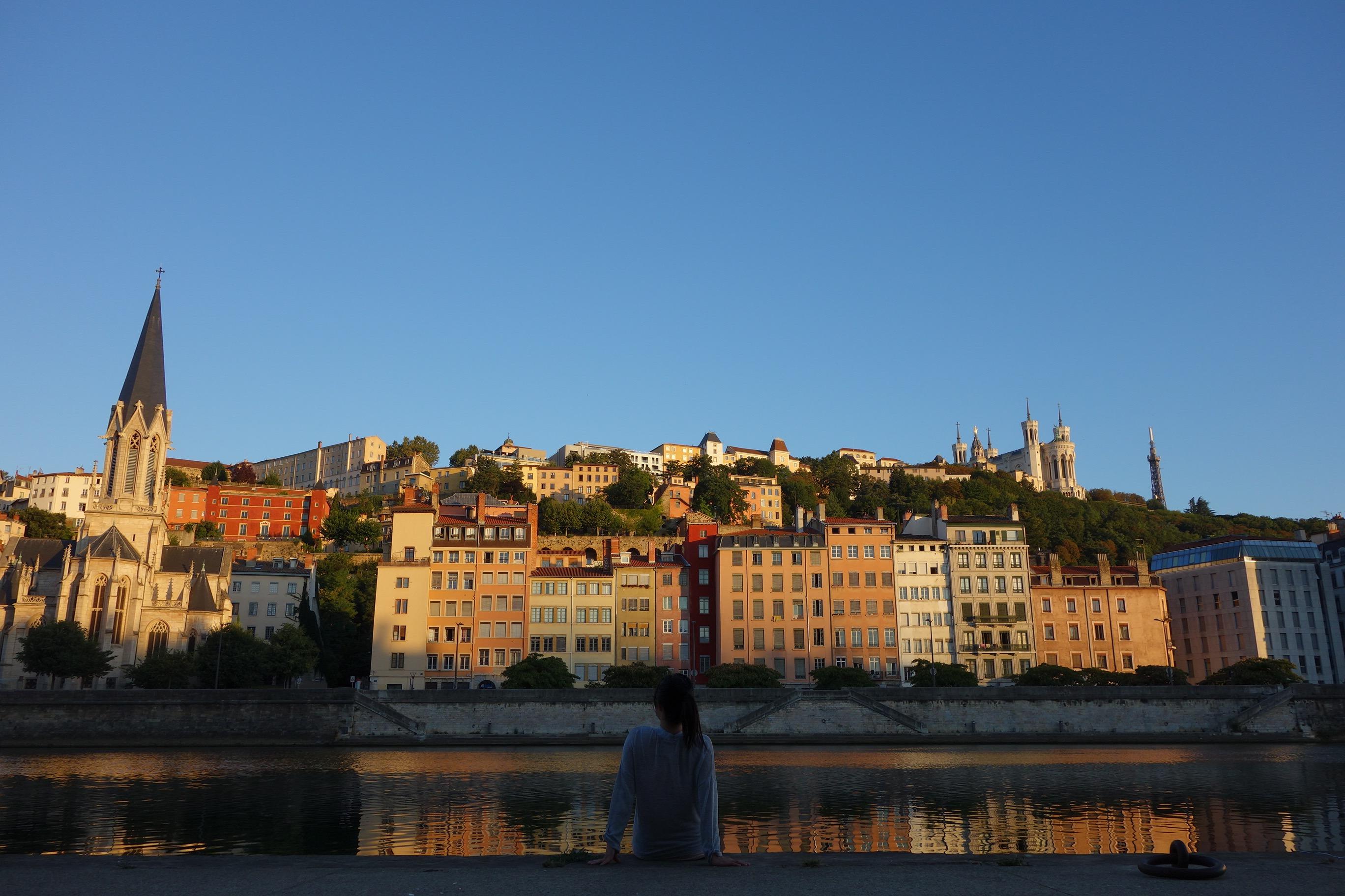 Buildings in Lyon.
