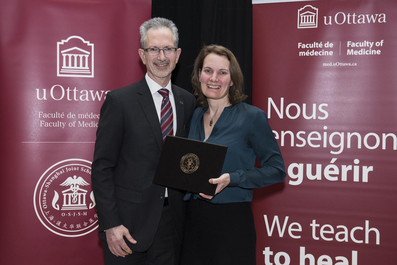 Dean Jacques Bradwejn; Dr. Diane Lagace.
