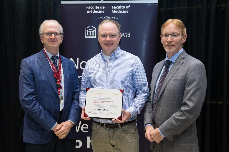 Dr. McMillan wins award.
