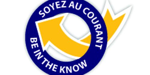 Logo d'être dans le savoir campagne