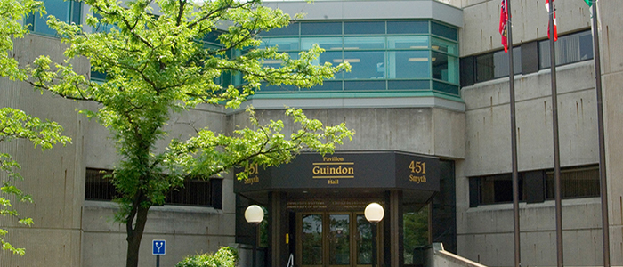 Guindon Hall front doors