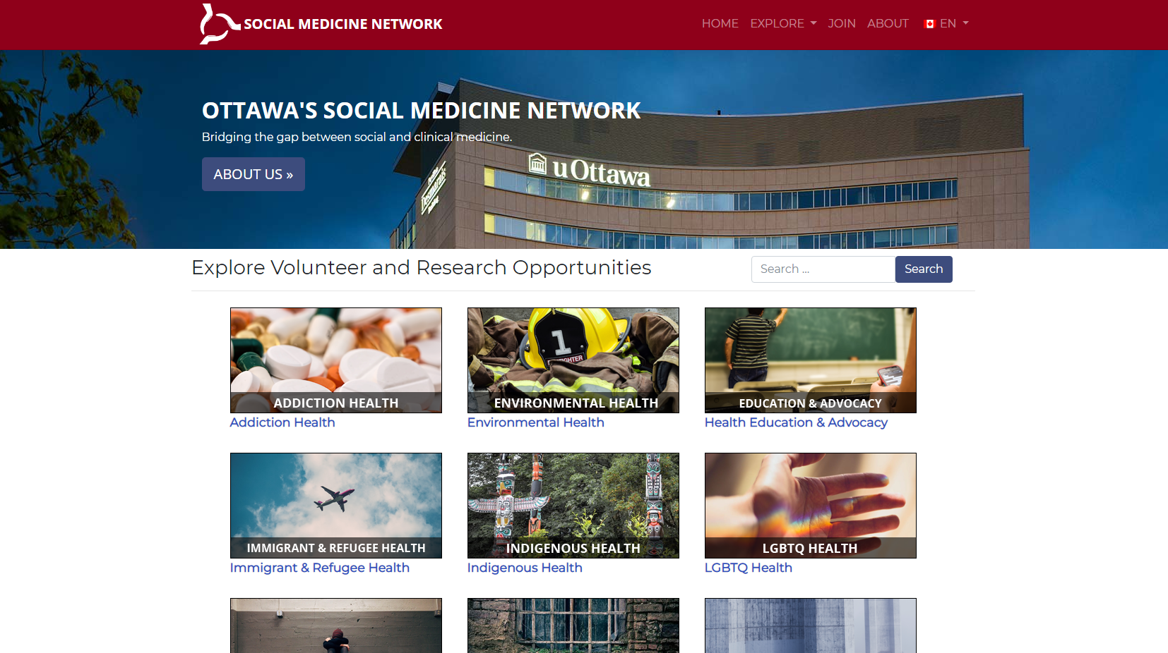 Socian Medicine Network screenshot