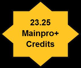 23.25 Mainpro+ Credits