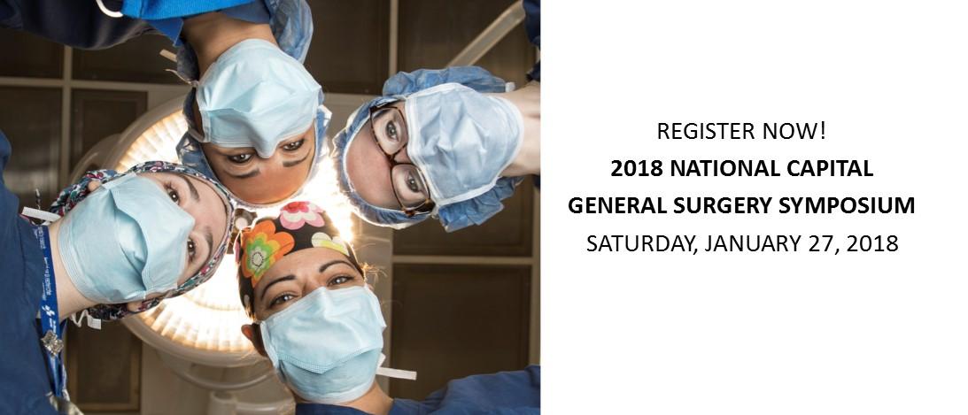 2018 National Capital General Surgery Symposium
