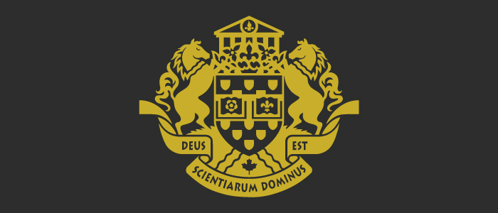 Black and yellow crest