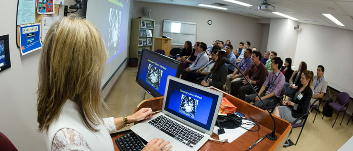 Staff Radiologist teaching continuing medical education
