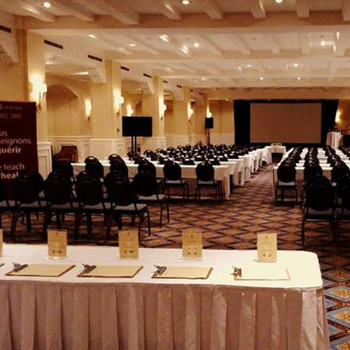 Conference Room set up for CME education