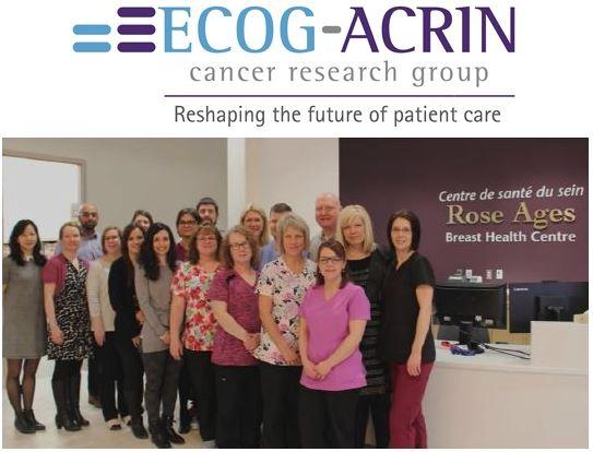 Group photo ECOG-ACRIN award recipients the Ottawa hospital