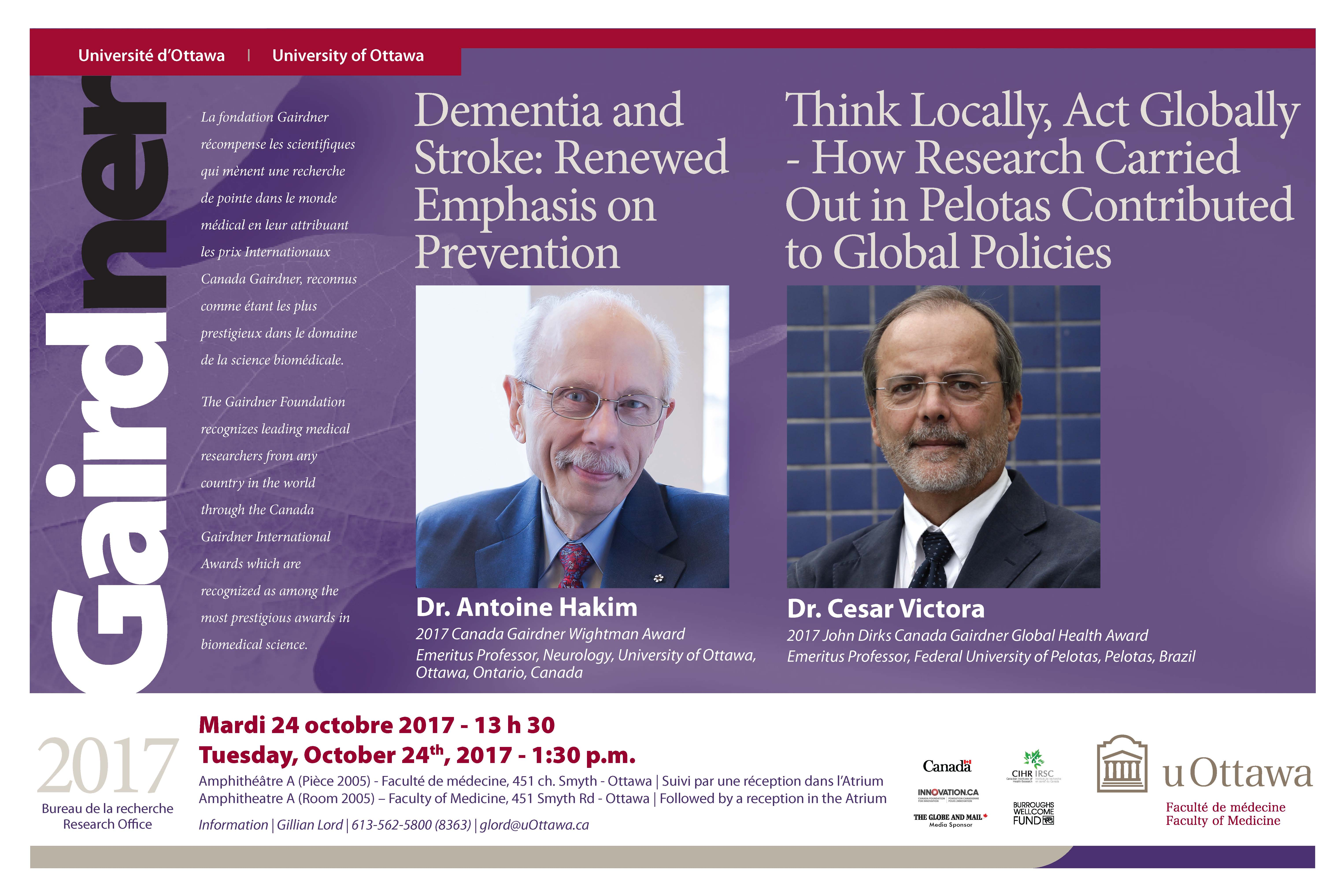 Poster Gairdner Lecture