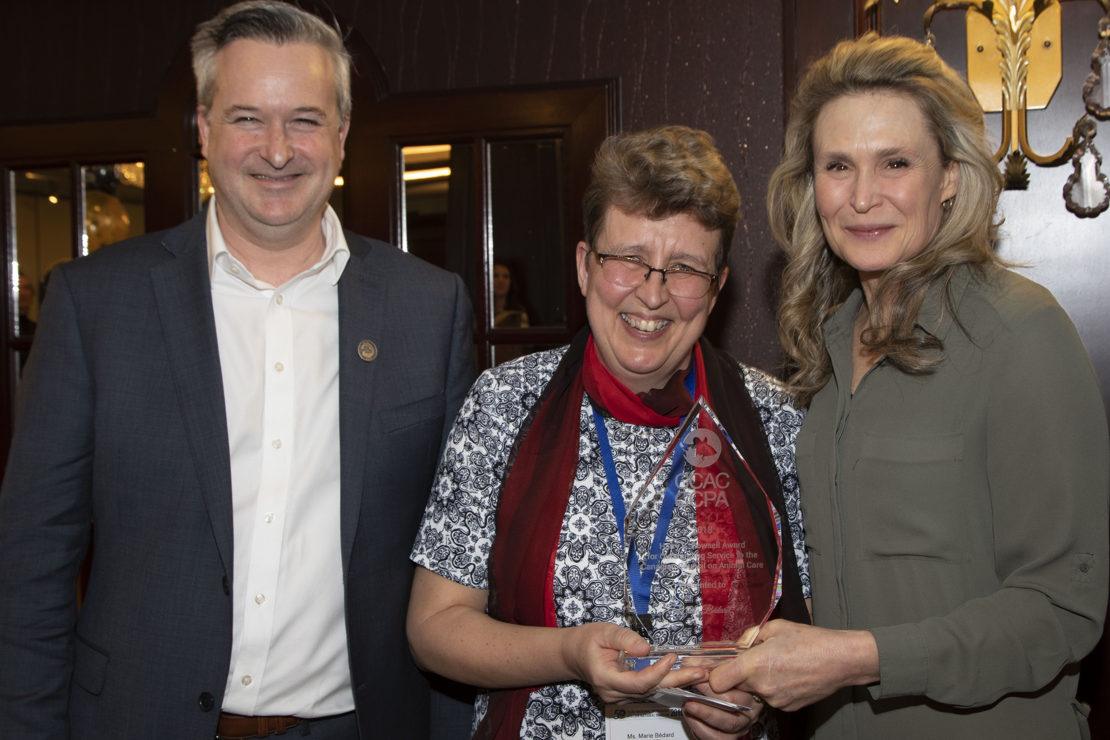 Mr. Pierre Verreault, Dr. Eileen Denovan-Wright & Ms Marie Bedard