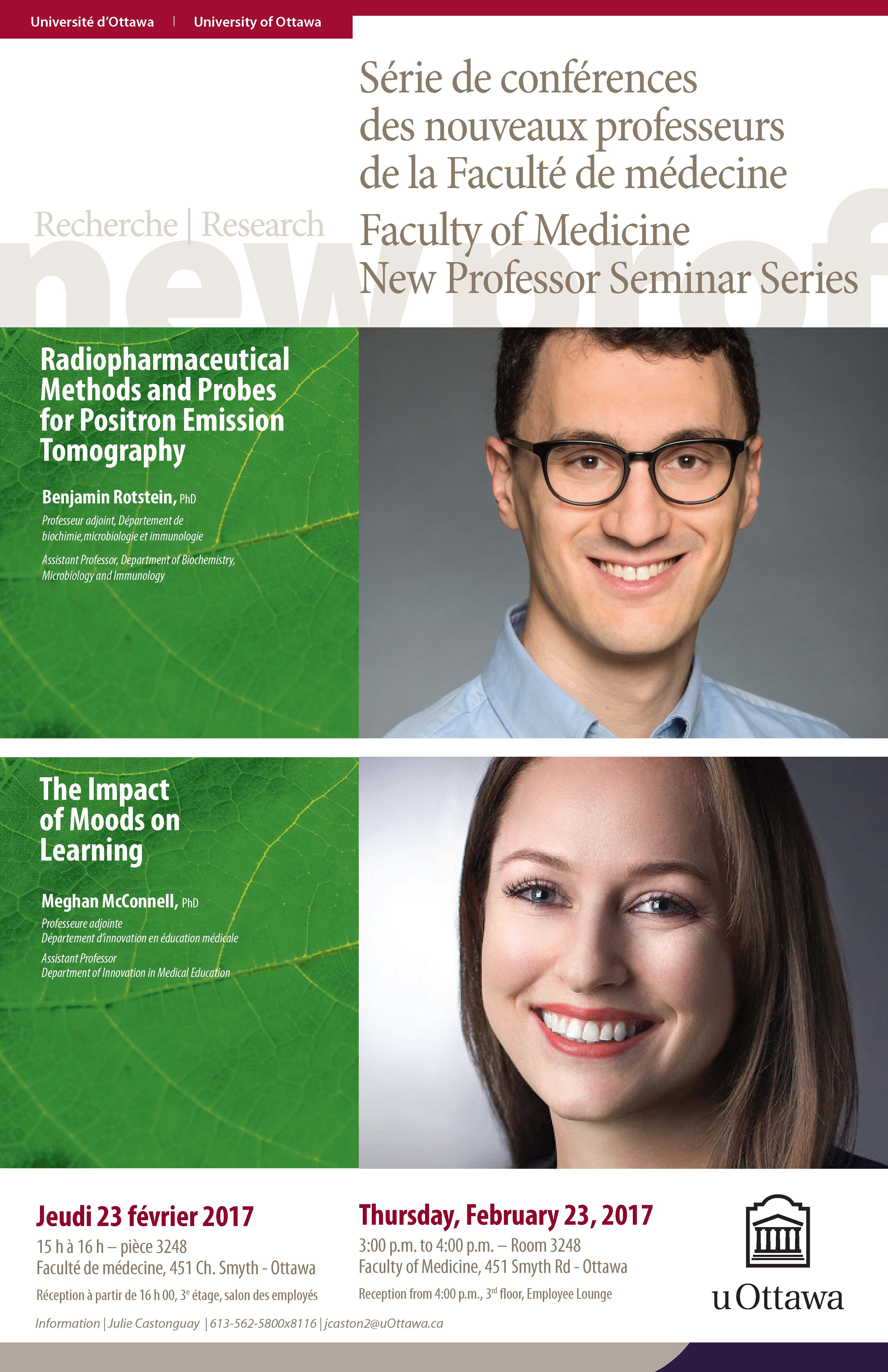 New Professor Seminar Series