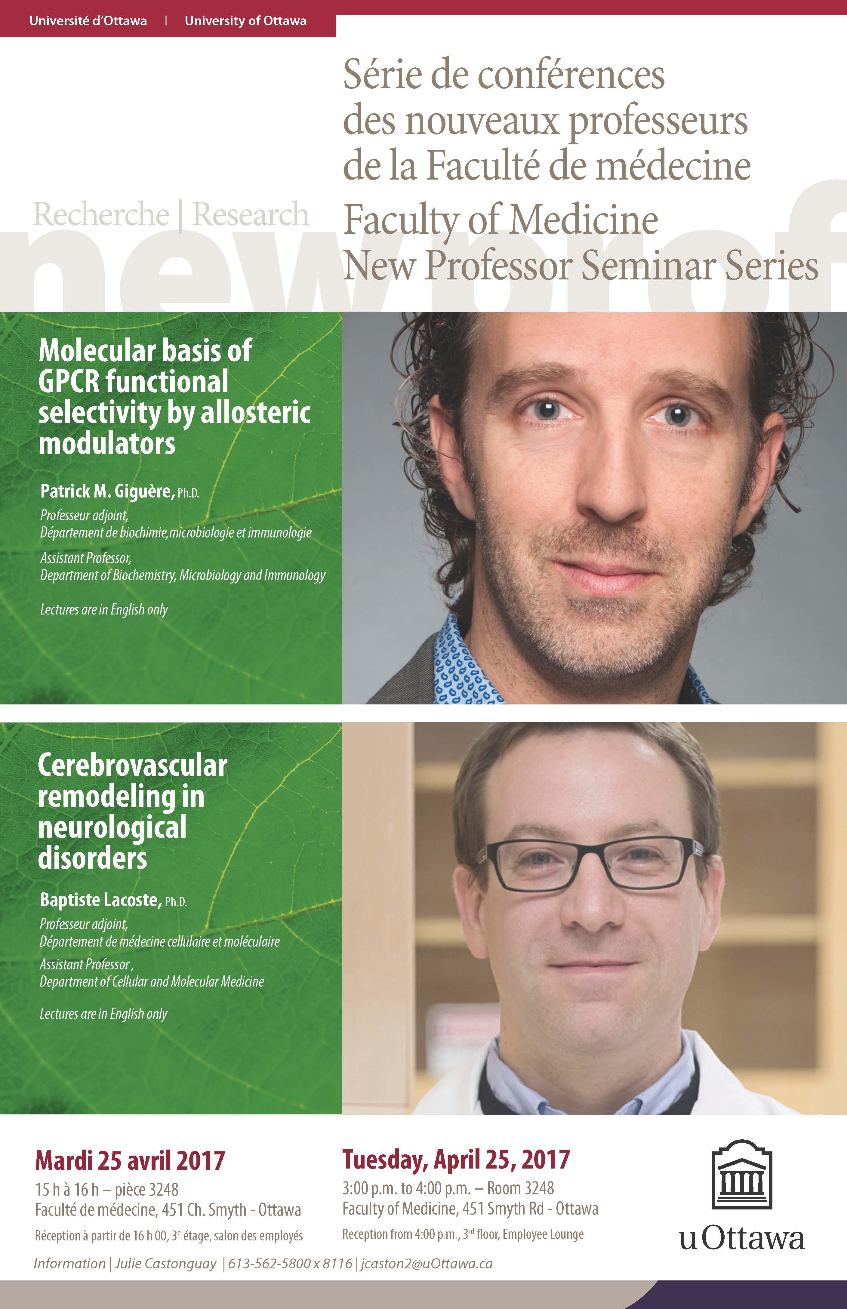 April 25th New Professor Seminar