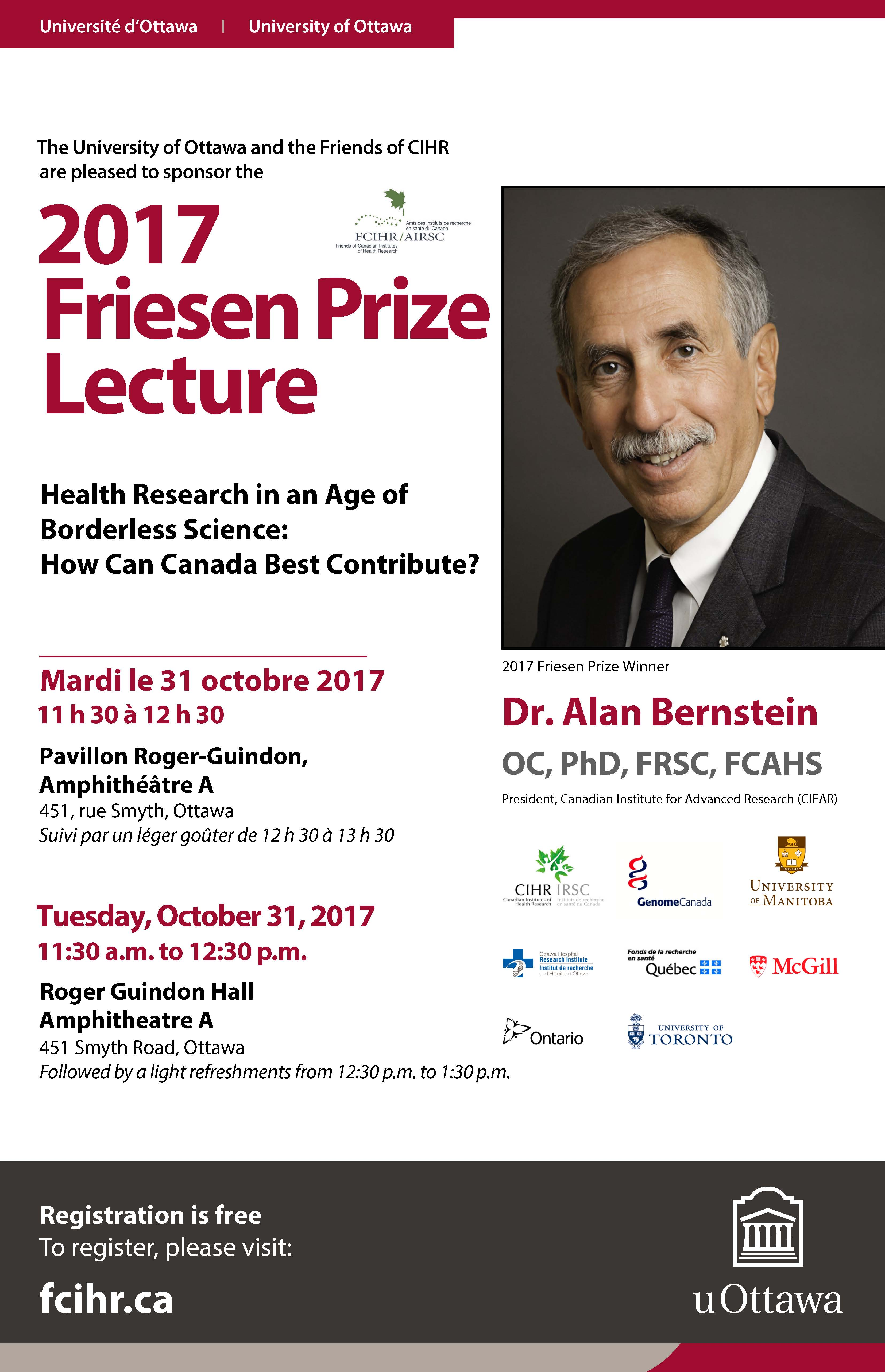 Friesen Lecture Poster