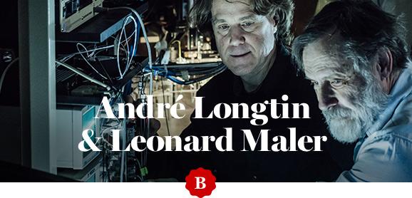 Dr Len Maler and Dr André Longtin