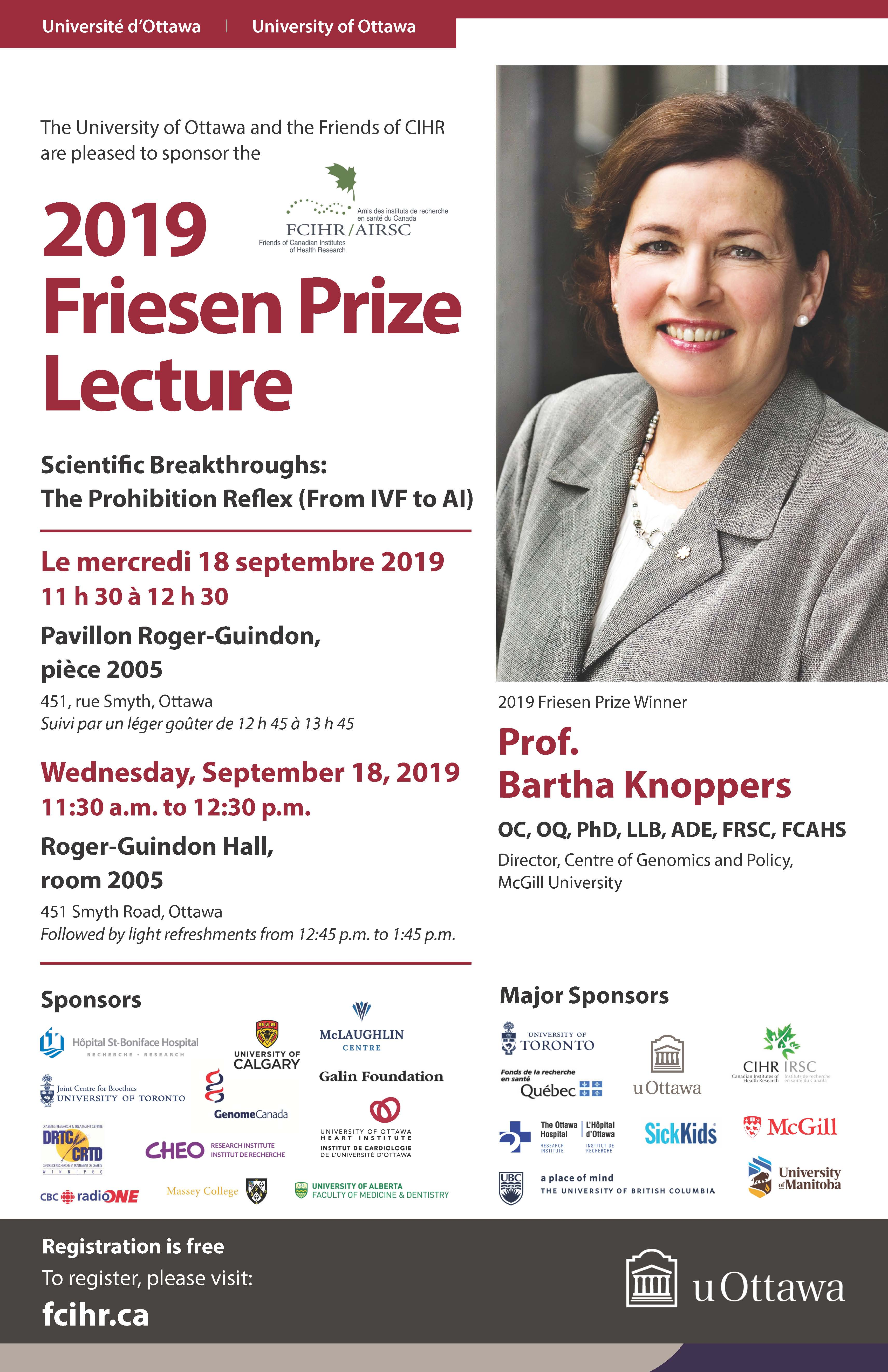 friesen prize lecture september 18