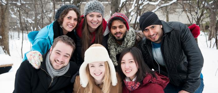 Groupe d'étudiants