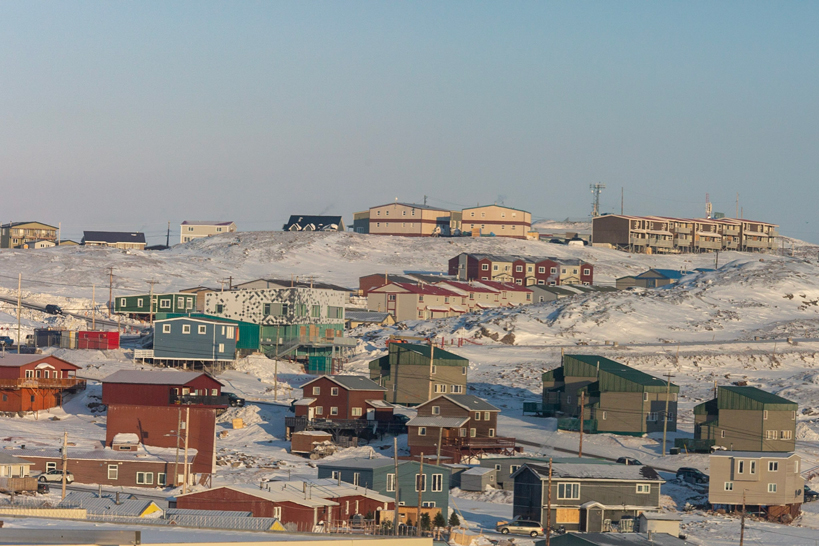 A photo of Iqaluit, Nunavut on a sunny day