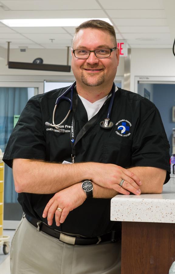 Photo of Dr. Jason Frank