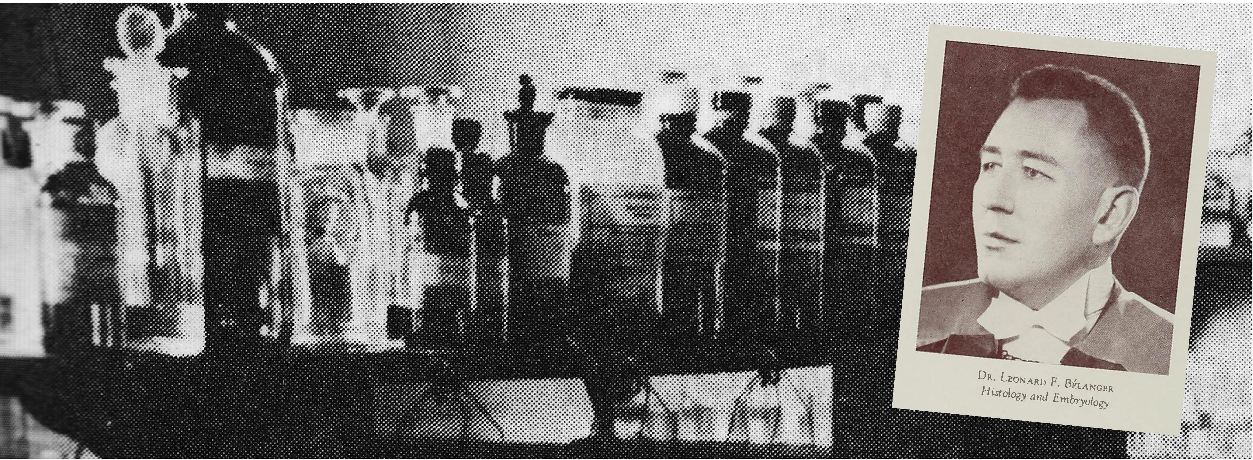 Bottles in a lab