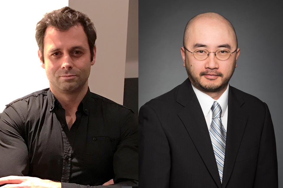 Dr. Yannick Benoît and Dr. Kin Chan