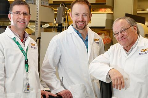 Drs. Eric Lacasse, Shawn Beug and Robert Korneluk