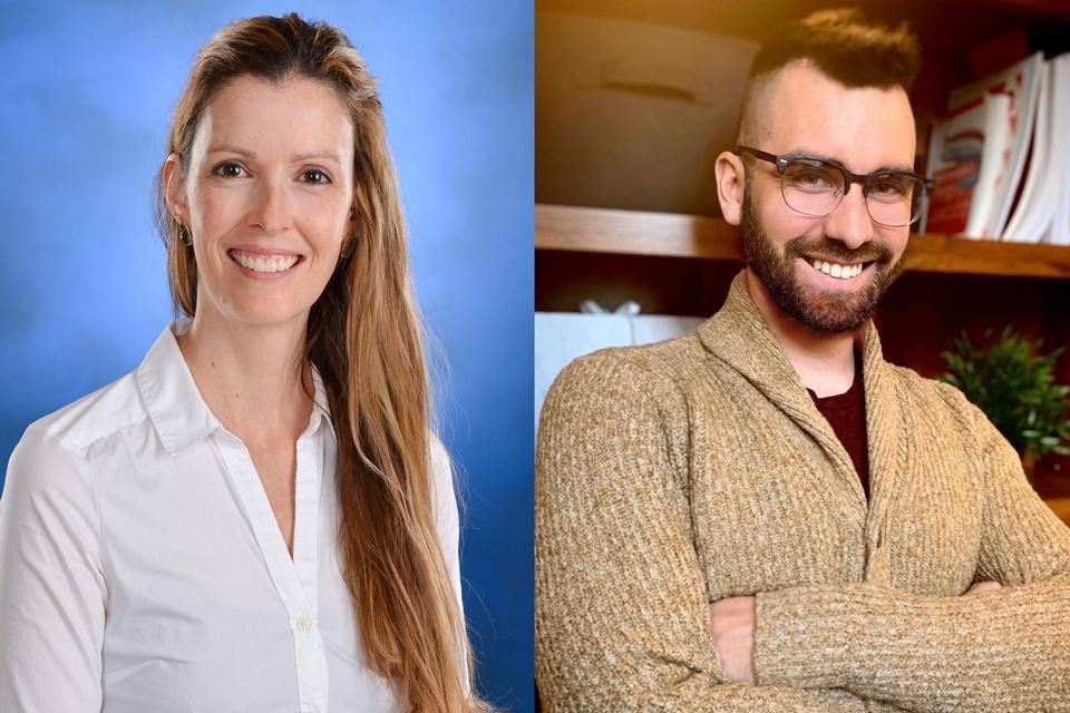 Dr. Catherine Moran and Dr. Deron Britt