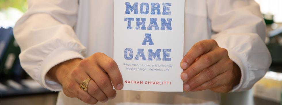 Nathan Chiarlitti's book: More Than A Game