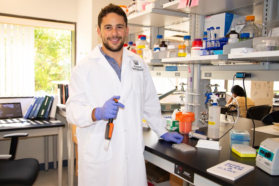 uOttawa MD student Nathan Chiarlitti