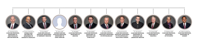 Clinical Chairs Org Chart English