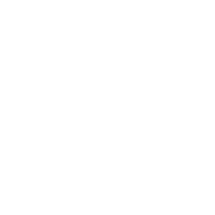 A graphic icon representing a continuous circle of arrows.